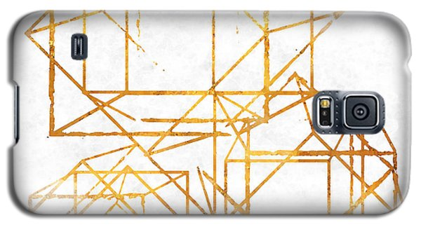 Gold Cubed I Galaxy S5 Case by South Social Studio