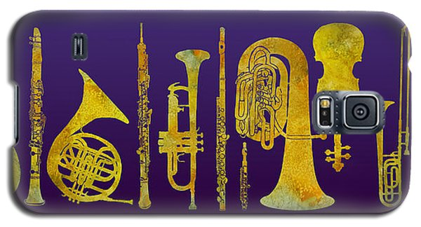 Golden Orchestra Galaxy S5 Case by Jenny Armitage