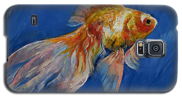 Goldfish Galaxy S5 Case by Michael Creese