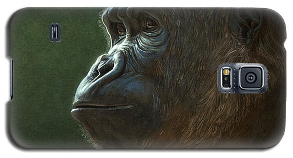 Gorilla Galaxy S5 Case by Aaron Blaise