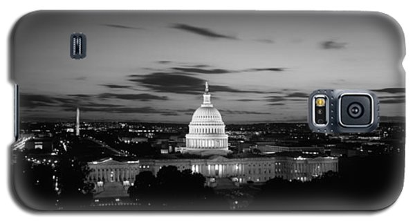 Government Building Lit Up At Night, Us Galaxy S5 Case by Panoramic Images