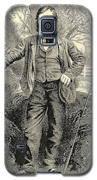 Grandfather Of Golf Alan Robertson Galaxy S5 Case by Marvin Blaine