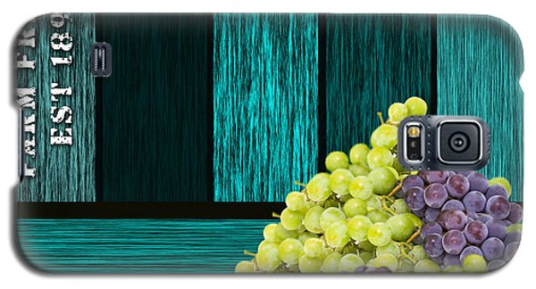 Grape Sign Galaxy S5 Case by Marvin Blaine