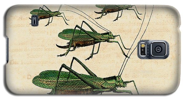 Grasshopper Parade Galaxy S5 Case by Antique Images