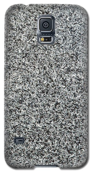 Gray Granite Galaxy S5 Case by Alexander Senin