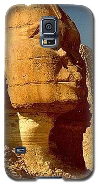 Galaxy S5 Case featuring the photograph Great Sphinx Of Giza by Travel Pics
