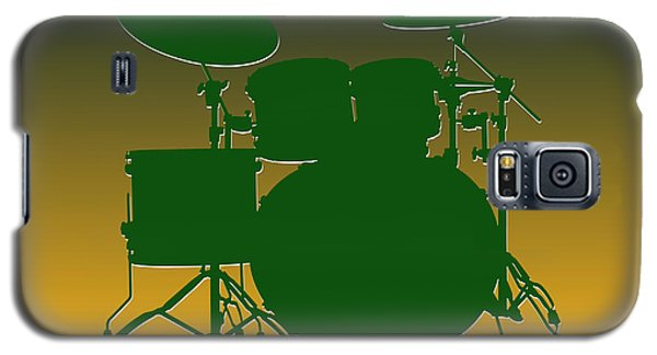 Green Bay Packers Drum Set Galaxy S5 Case by Joe Hamilton