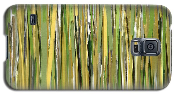 Green Melodies Galaxy S5 Case by Lourry Legarde