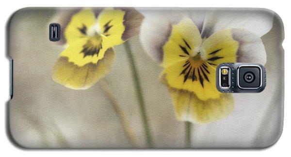 Flower Galaxy S5 Cases - Growing Wild Galaxy S5 Case by Priska Wettstein