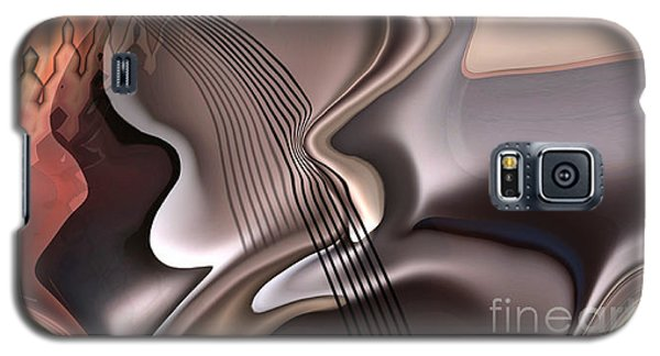 Music Galaxy S5 Cases - Guitar sound Galaxy S5 Case by Christian Simonian