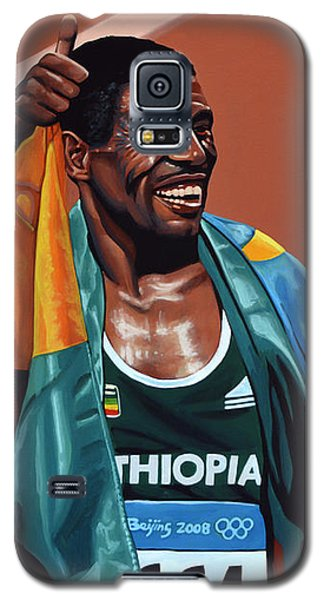 Haile Gebrselassie Galaxy S5 Case by Paul Meijering
