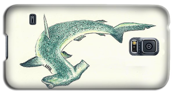 Hammerhead Shark Galaxy S5 Case by Michael Vigliotti