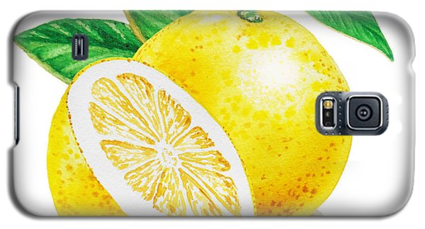 Happy Grapefruit- Irina Sztukowski Galaxy S5 Case by Irina Sztukowski