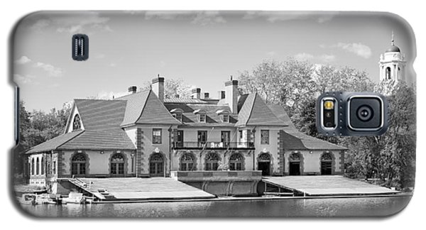 Weld Boat House At Harvard University Galaxy S5 Case by University Icons