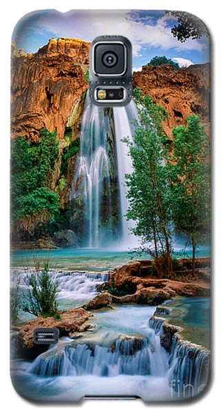 Havasu Cascades Galaxy S5 Case by Inge Johnsson