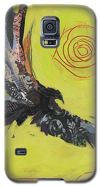 Bird Galaxy S5 Cases - Hawk Galaxy S5 Case by Shelli Walters