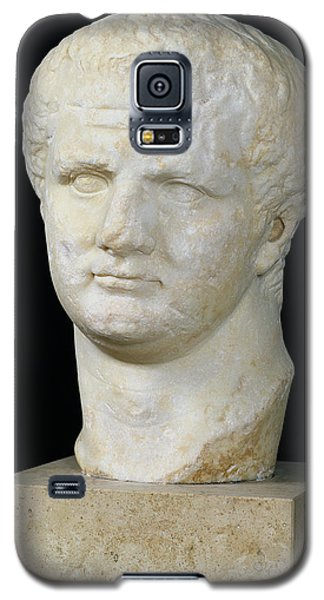 Sculptures Galaxy S5 Cases - Head of Titus Galaxy S5 Case by Anonymous