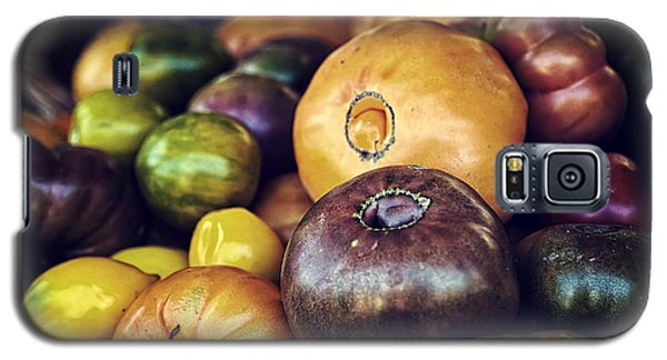 Heirloom Tomatoes At The Farmers Market Galaxy S5 Case by Scott Norris