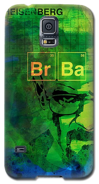 Recently Sold -  - Buy Galaxy S5 Cases - Heisenberg Watercolor Galaxy S5 Case by Naxart Studio