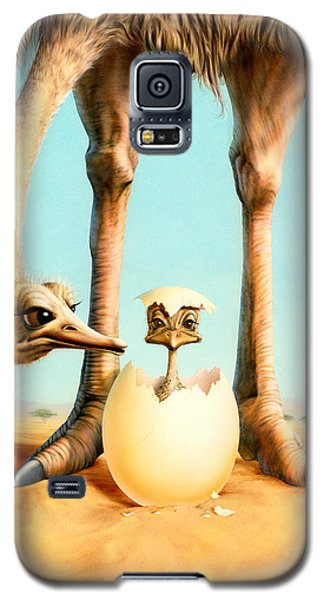 Hello Mum Galaxy S5 Case by Andrew Farley