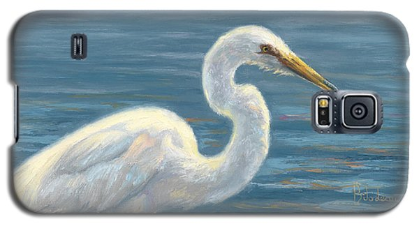 Heron Light Galaxy S5 Case by Lucie Bilodeau