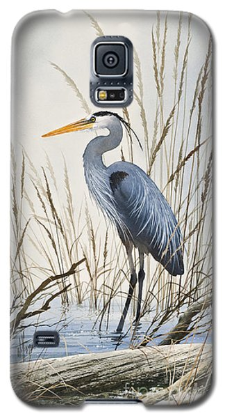 Herons Natural World Galaxy S5 Case by James Williamson