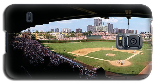 High Angle View Of A Baseball Stadium Galaxy S5 Case by Panoramic Images