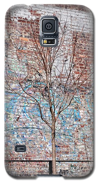 High Line Palimpsest Galaxy S5 Case by Rona Black