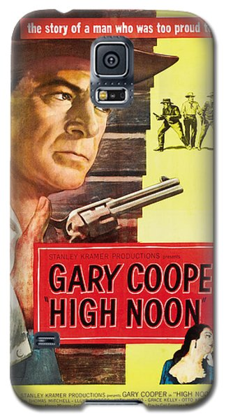High Noon - 1952 Galaxy S5 Case by Georgia Fowler