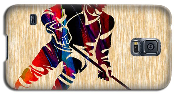 Hockey Player Galaxy S5 Case by Marvin Blaine