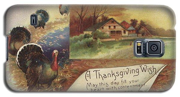 Holiday Postcards Vii Galaxy S5 Case by Wild Apple Portfolio