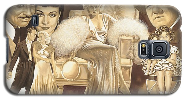 Hollywoods Golden Era Galaxy S5 Case by Dick Bobnick