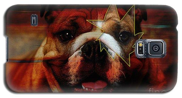 House Broken English Bulldog  Galaxy S5 Case by Marvin Blaine