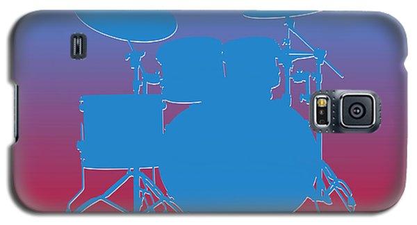Houston Oilers Drum Set Galaxy S5 Case by Joe Hamilton