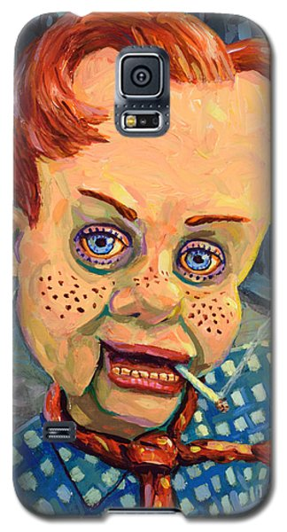 Howdy Von Doody Galaxy S5 Case by James W Johnson
