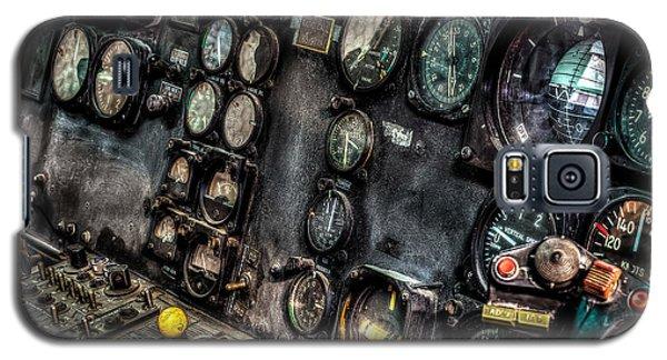 Huey Instrument Panel 2 Galaxy S5 Case by David Morefield