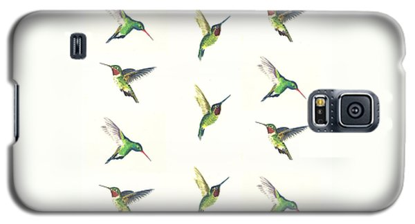 Hummingbirds Number 2 Galaxy S5 Case by Michael Vigliotti
