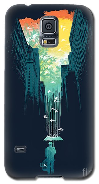 Architecture Galaxy S5 Cases - I want my blue sky Galaxy S5 Case by Budi Kwan