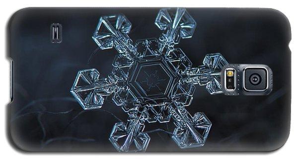 Snowflake Photo - Ice Crown Galaxy S5 Case by Alexey Kljatov