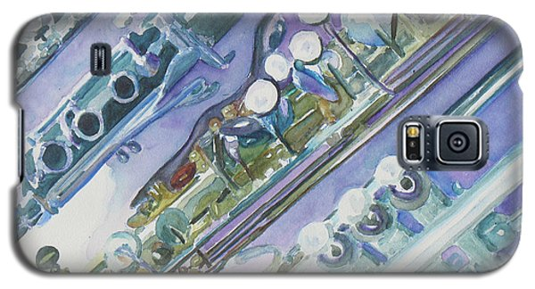I'm Still Painting On The Keys Galaxy S5 Case by Jenny Armitage