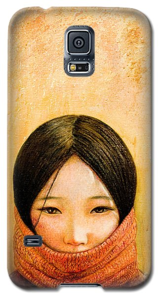 Mixed Media Galaxy S5 Cases - Image of Tibet Galaxy S5 Case by Shijun Munns