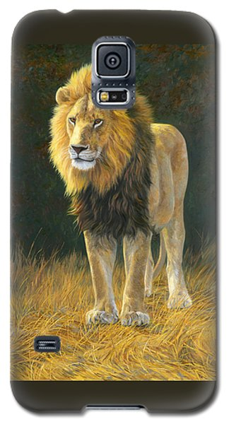 Animals Galaxy S5 Cases - In His Prime Galaxy S5 Case by Lucie Bilodeau