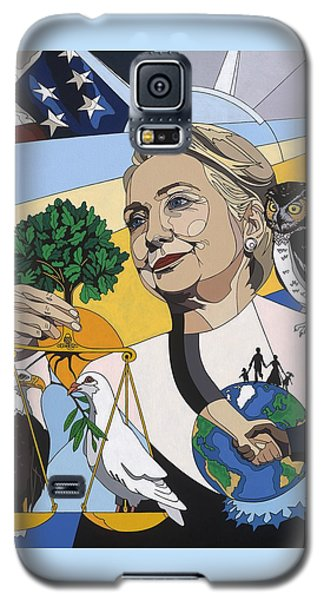 In Honor Of Hillary Clinton Galaxy S5 Case by Konni Jensen