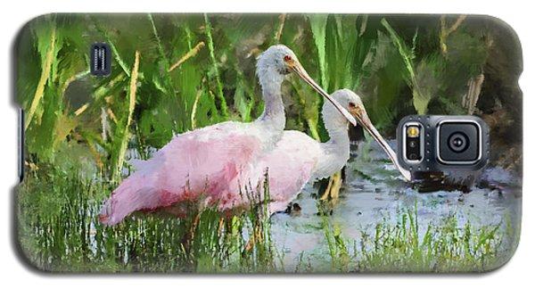 In The Bayou #3 Galaxy S5 Case by Betty LaRue