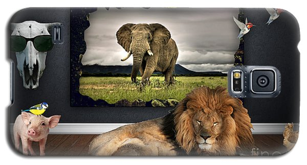 In The Jungle Galaxy S5 Case by Marvin Blaine