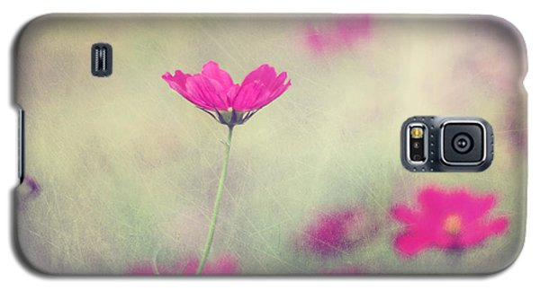 Flower Galaxy S5 Cases - Ingrids Garden Galaxy S5 Case by Amy Tyler