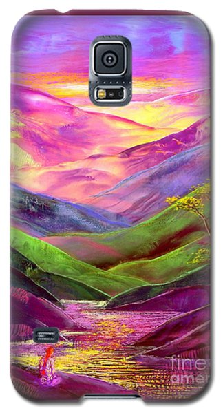 Bird Galaxy S5 Cases - Inner Flame Galaxy S5 Case by Jane Small
