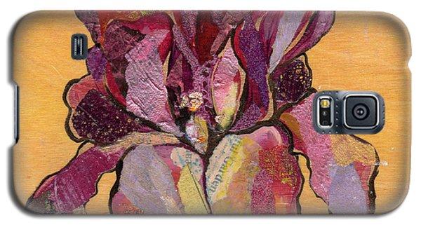 Iris V  - Series V Galaxy S5 Case by Shadia Derbyshire