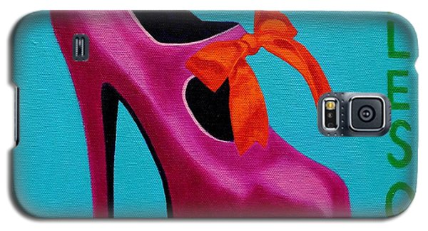 Irish Burlesque Shoe    Galaxy S5 Case by John  Nolan