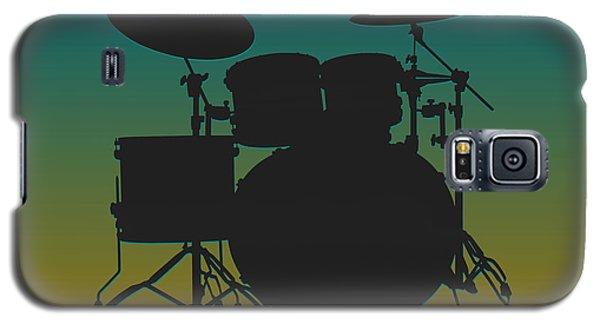 Jacksonville Jaguars Drum Set Galaxy S5 Case by Joe Hamilton